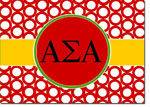 Sorority Folded Notes - Alpha Sigma Alpha Greek Rings (ASA)