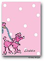 Dinky Designs Flat Note Stationery - Fifi Poodle
