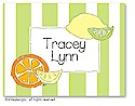 Dinky Designs Foldover Notes - Mix o' Citrus
