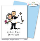 Dinky Designs Foldover Notes - Bridal Dick & Jane (NC-418B)
