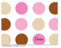 Dinky Designs Foldover Notes - Bon-bon Dots