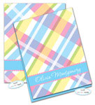 Dinky Designs Foldover Notes - Olivia Plaid (NC-880X)