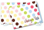 Dinky Designs Foldover Notes - Lizzie Dots (NC-914L)