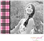 Modern Posh Stationery/Thank You Notes - Preppy Digital Photo (DFJ1012)