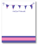 Polka Dot Pear Design - Correspondence Cards (Finish Line)