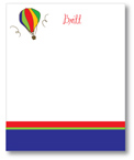 Polka Dot Pear Design - Correspondence Cards (Hot Air Balloon)
