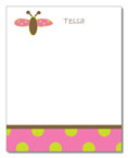 Polka Dot Pear Design - Correspondence Cards (Bubble Bee)