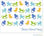 Rosanne Beck Stationery - Iconic Baby - Blue