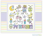 Rosanne Beck Stationery - Oh Baby - Multi