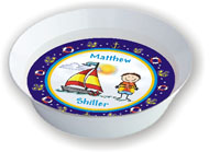 Pen At Hand Stick Figures - Melamine Bowls (Sailing)