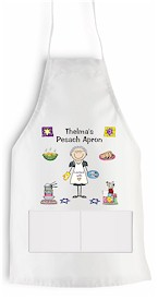 Pen At Hand Stick Figures - Apron (Passover)
