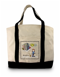 Pen At Hand Stick Figures - Grocery Tote (Grocery Tote 3)