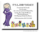 Pen At Hand Stick Figures - Invitations - Baby Shower 2