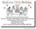 Pen At Hand Stick Figures - Invitations - Birthday Table (color)