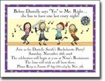 Pen At Hand Stick Figures - Invitations - Bachelorette-3