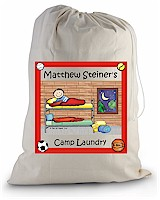 Pen At Hand Stick Figures - Laundry Bag (Bunk Boy)