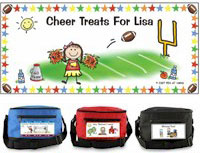 Pen At Hand Stick Figures - 6-Pack Lunch Sacks (Cheer)