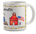 Pen At Hand Stick Figures - Mug (Teacher - Man)