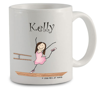 Pen At Hand Stick Figures - Mug (Ballet - 2)