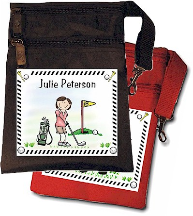 Pen At Hand Stick Figures - Golf Glove Bag