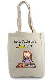 Pen At Hand Teacher Tote Bag