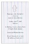 Sugar Cookie Announcements & Invitations - CR-2