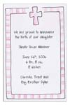 Sugar Cookie Announcements & Invitations - CR-3