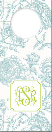 Boatman Geller - Create-Your-Own Wine Bottle Tags (Floral Toile)