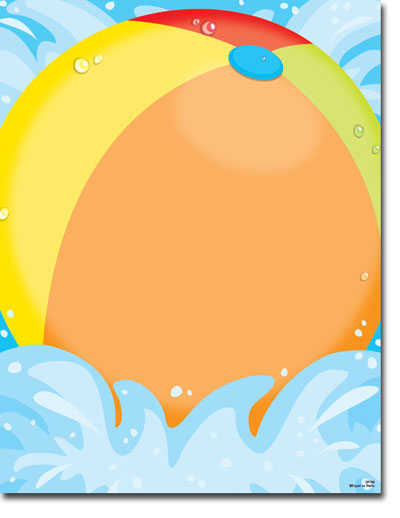 Pool Party More Than Paper – Blank Pool Party Invitations