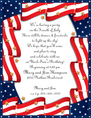 Paper So Pretty - Blank Designer Papers (Patriotic Flag)