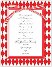 Paper So Pretty - Blank Designer Papers (Red Harlequin)