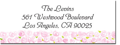 Blue Mug Designs Return Address Labels - Pretty In Pink Floral