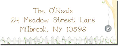 Blue Mug Designs Return Address Labels - Country Move