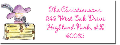 Blue Mug Designs Return Address Labels - Big Sister/Little Sister