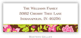 Boatman Geller Address Labels - Brown Floral