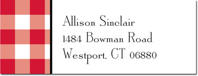 Boatman Geller - Create-Your-Own Address Labels (Classic Check)