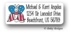 Dinky Designs Address Labels - Stars & Stripes (Holiday)