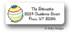 Dinky Designs Address Labels - Lantern Summer