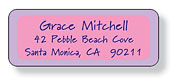 Inkwell Address Labels - Make Up Case