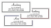 Rytex - Rectangle Corner Labels AA Address Labels