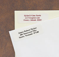 Rytex - Traditional Address Labels (Rectangular)
