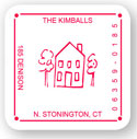 Rytex - House Address Labels (Square)