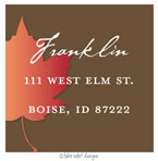 Take Note Designs - Address Labels (Large Leaf - Fall/Thanksgiving)