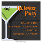 Take Note Designs - Address Labels (Apple Web Martini - Halloween)