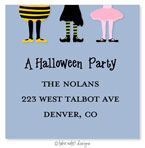 Take Note Designs - Address Labels (Costume Party Kids Blue - Halloween)