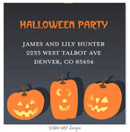 Take Note Designs - Address Labels (Jack-O-Lantern Trio - Halloween)