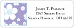iDesign Address Labels - Daisies - Pastel Purple (Everyday)