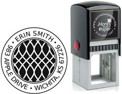 More Than Paper - Custom Self-Inking Stamps (M481)