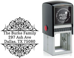 More Than Paper - Custom Self-Inking Stamps (Ash)