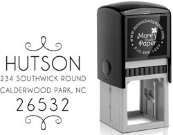 More Than Paper - Custom Self-Inking Stamps (Hutson)